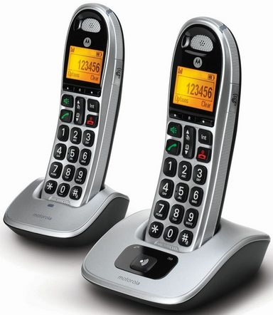 Motorola Telefon analog schnurlos »CD302«