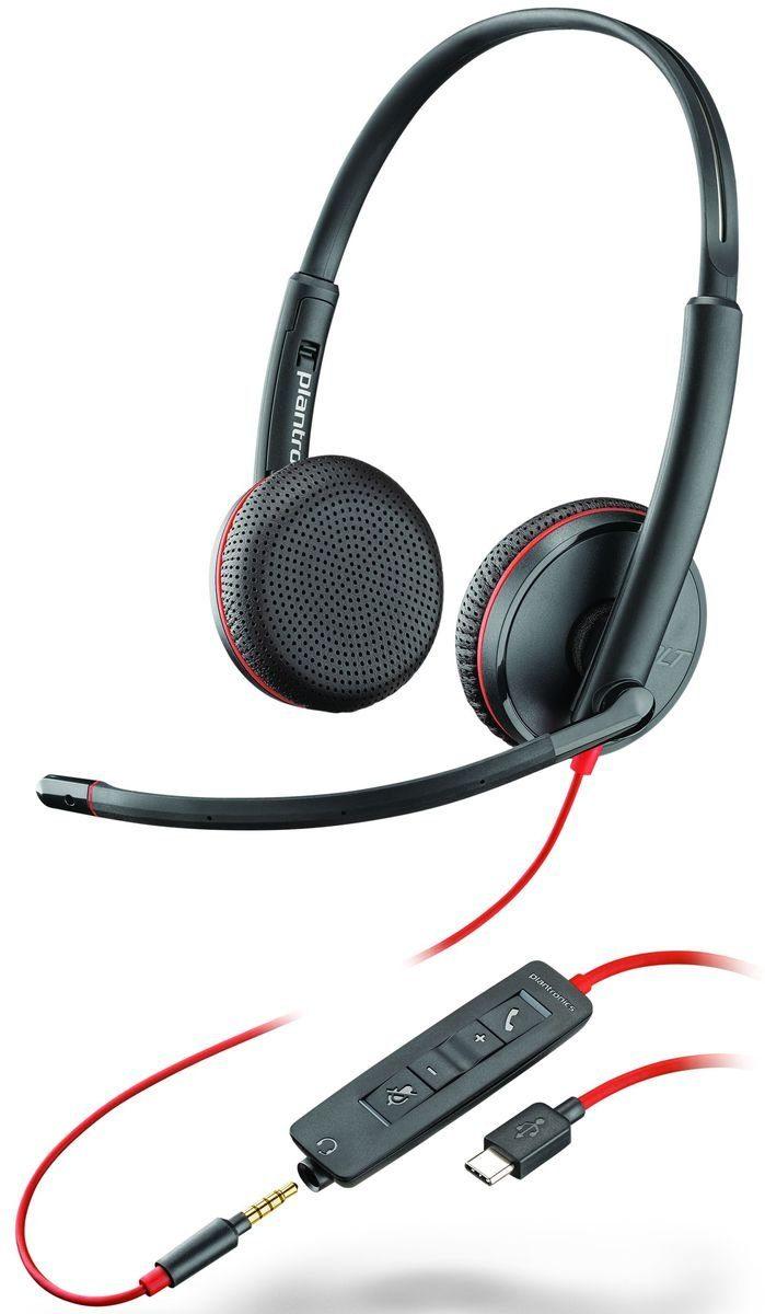 Plantronics Headset »Headset Blackwire C3225 USB-C & 3,5 mm«