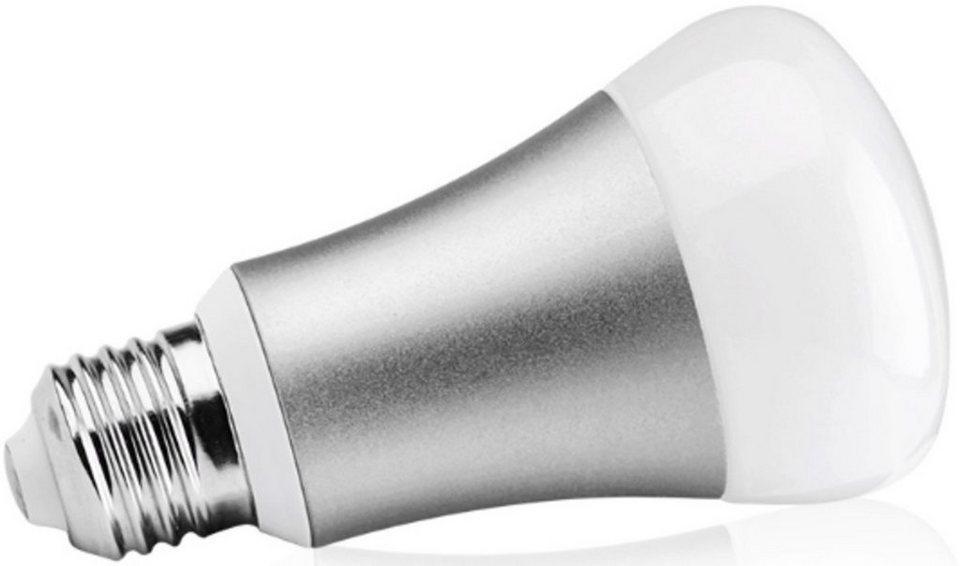 Led Lampen E27 : Z wave smart home zubehör »rgb led lampe e27 z wave« online kaufen