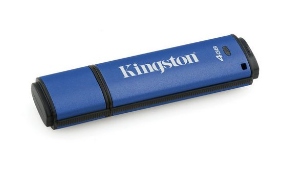 Kingston USB-Stick »DataTraveler Vault Privacy 3.0, 4GB (Standard)«