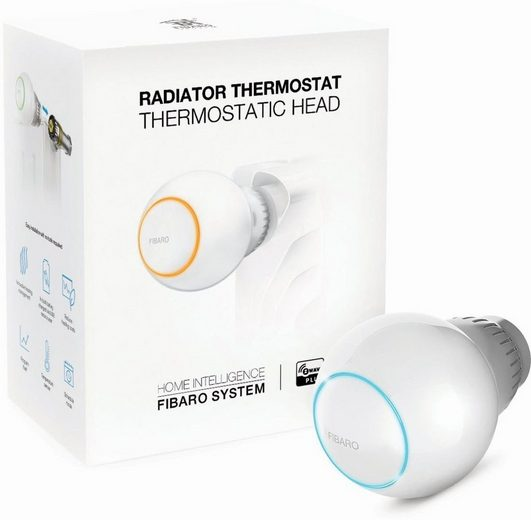 Fibaro Smart Home Zubehör »Radiator Heizkörperthermostat - Z-Wave Plus«