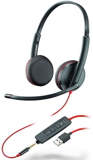 Plantronics Headset »Headset Blackwire C3225 USB & 3,5 mm«