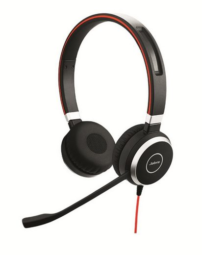 Jabra Professionelles VoIP-Softphone Stereo Headset »Evolve 40«