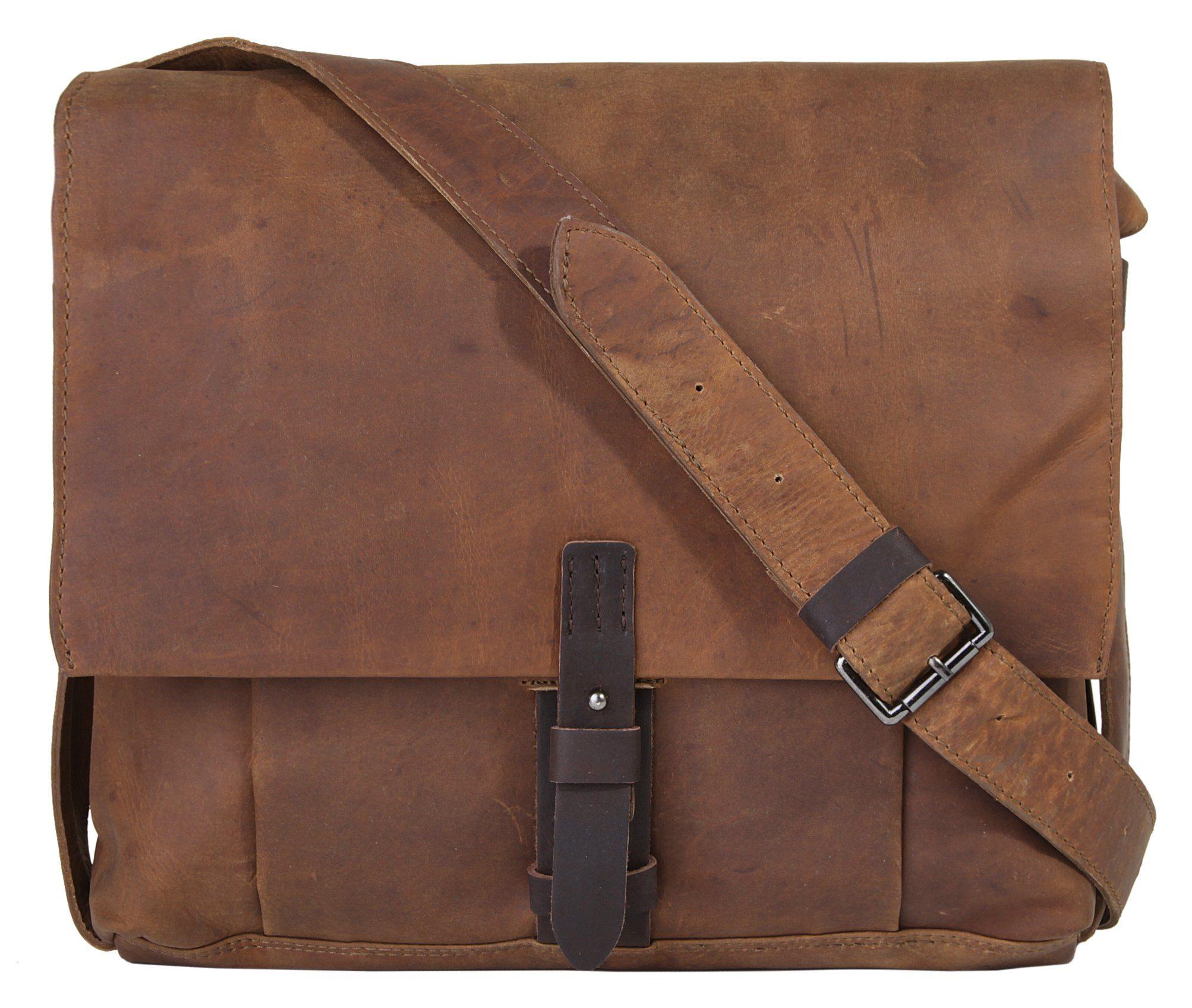 HAROLD'S Leder Messengerbag »Leado«