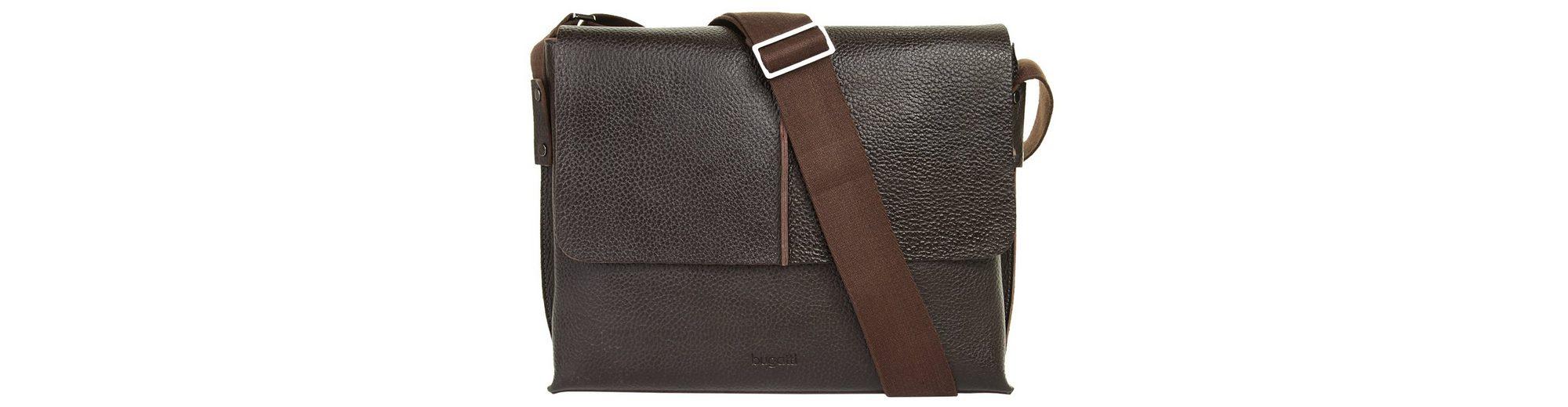 Bugatti Leder Messenger Tasche MILANO