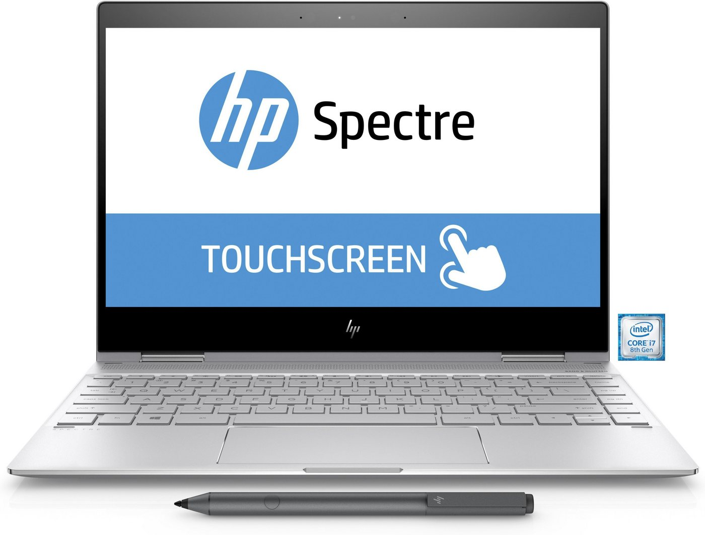 "HP Spectre 13-ae042ng Notebook »Intel Core i7, 33,8 cm (13,3""), 512 GB SSD, 16 GB«"