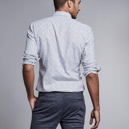 Nouveau En Ville Button-down-hemd Mit Grafischem Imprimer