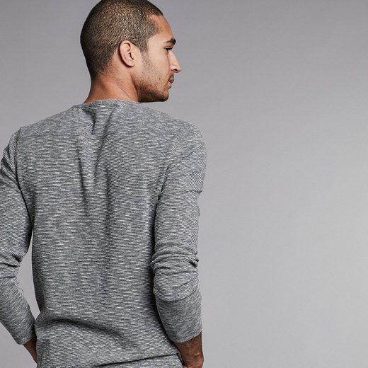 NEW IN TOWN Leichter Pullover mit Strukturstreifen