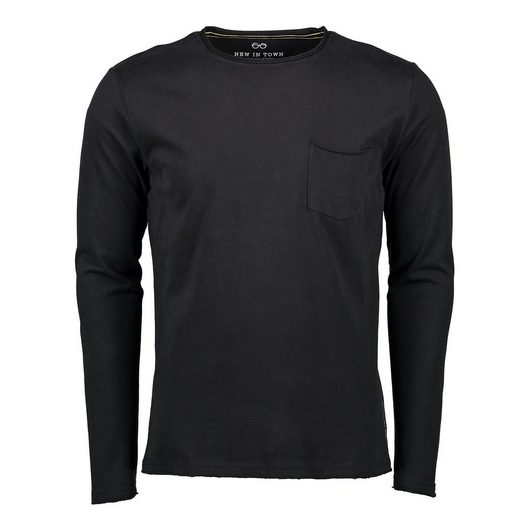 NEW IN TOWN Longsleeve-Shirt
