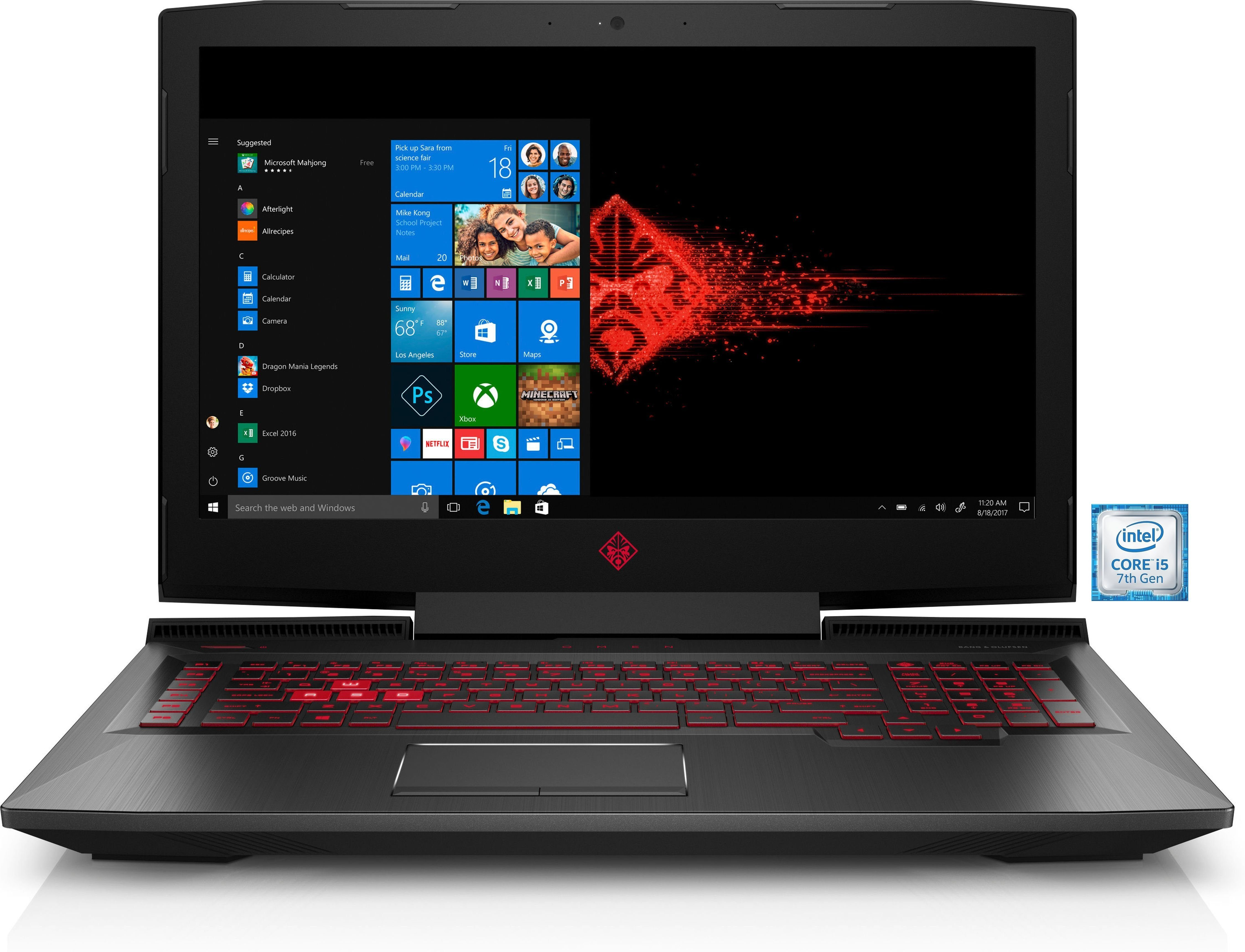 "OMEN by HP 17-an025ng Gaming-Notebook »Intel Core i5, 43,9 cm (17,3"") 1 TB + 128 GB, 8GB«"