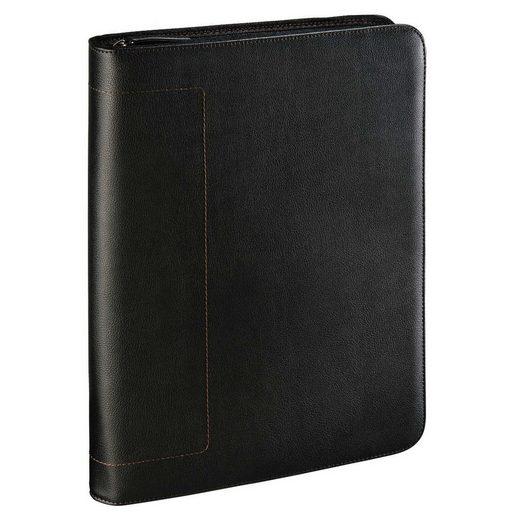 Hama est. 1923 Tablet Organizer Dokumentenmappe geeignet für Büroarbeit »DIN A4 Größe Schwarz«
