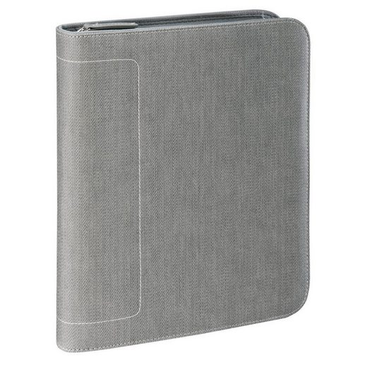 "Hama est. 1923 1923 Tablet-Organizer A5 ""Hannover"", Light-Grey »Organizermappe«"