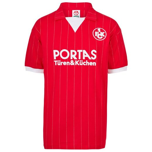 Score Draw 1 Fc Kaiserslautern Retro Home Jersey From 1983