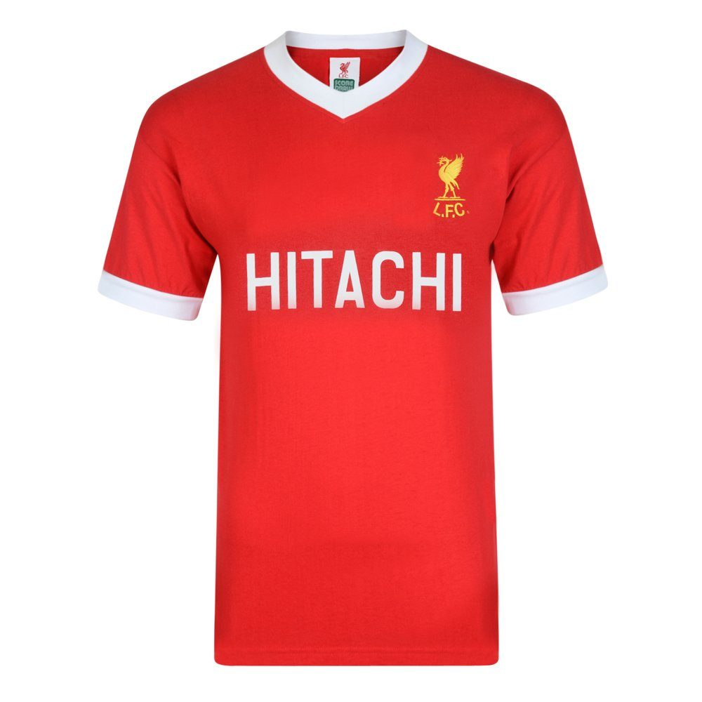 Score Draw Liverpool FC Retro-Heimtrikot von 1978