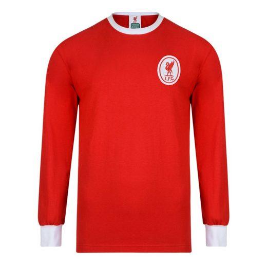 Score Draw Liverpool Fc Retro Maillot Domicile De 1964