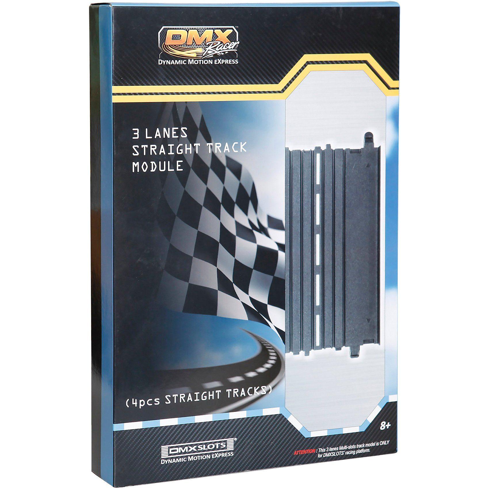 DMX Racer Gerade, 4 Stück