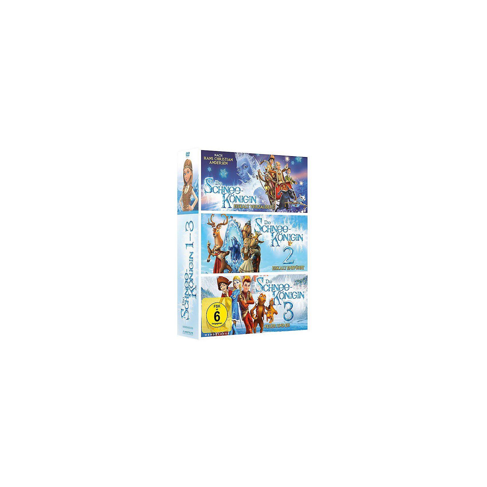 Universum DVD Die Schneekönigin 1-3