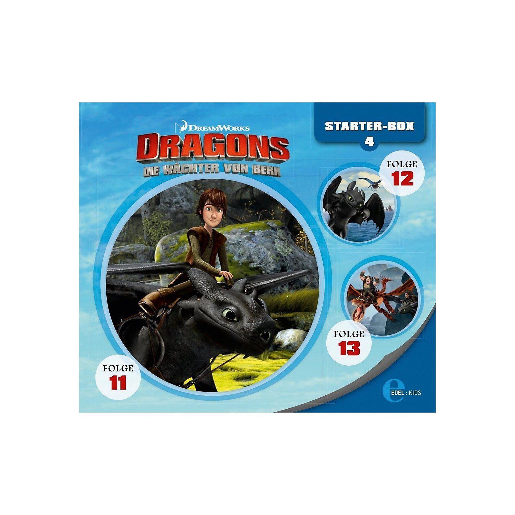 Edel CD Dragons - Die Reiter von Berk - Starter-Box 4 (Folge 11