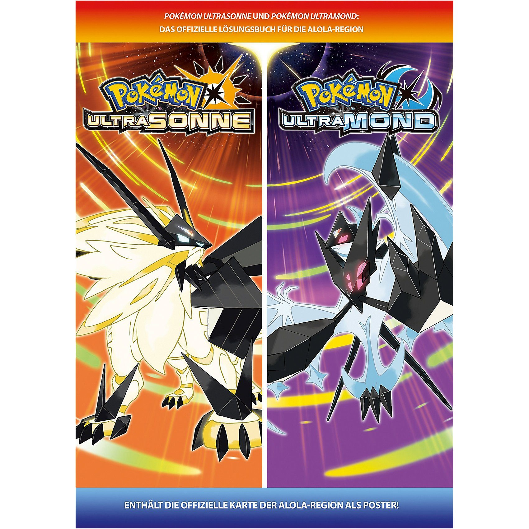 Lösungsbuch Pokemon Ultrasonne und Ultramond - offizielles L