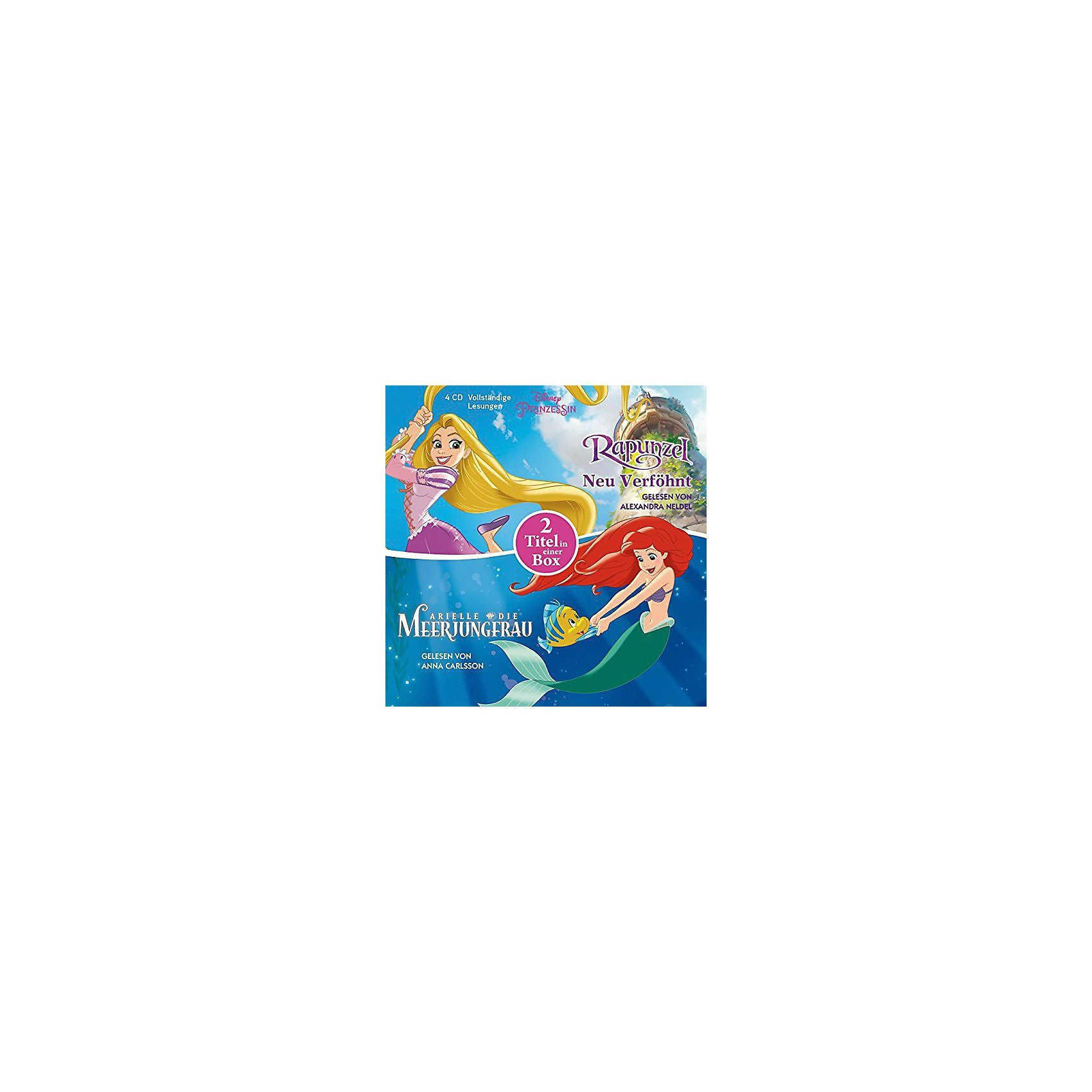 Edel CD Disney Prinzessinnen - Arielle, die Meerjungfrau / Rapunz