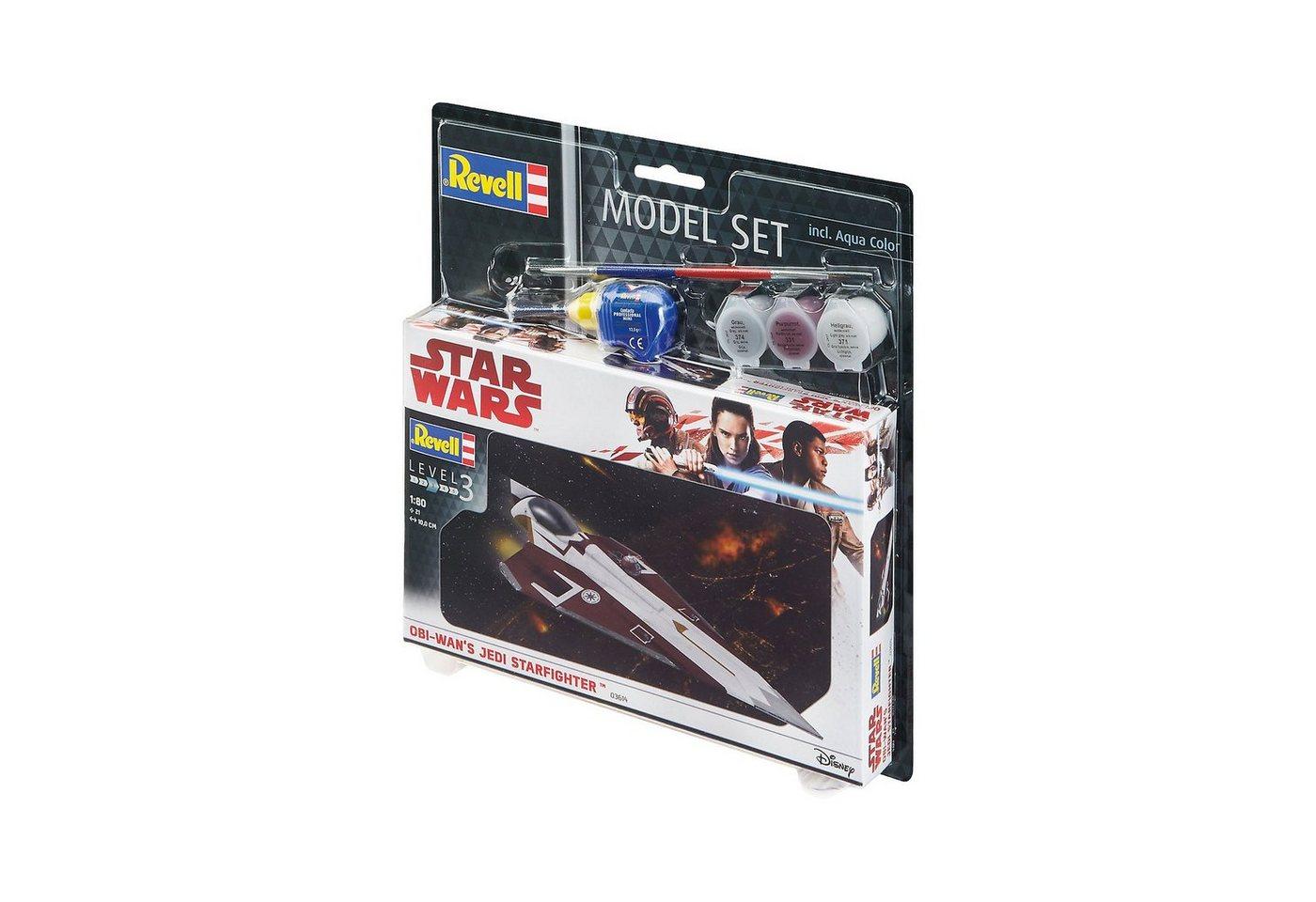 Revell® Modellbausatz Model Set - Star Wars Jedi Starfighter