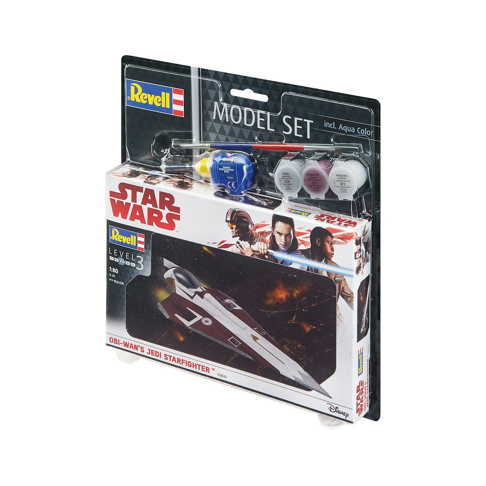 Revell® Modellbausatz Model Set - Star Wars Jedi Starfighter