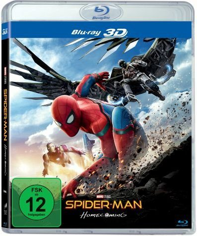 Blu-ray »Spider-Man: Homecoming 3D«