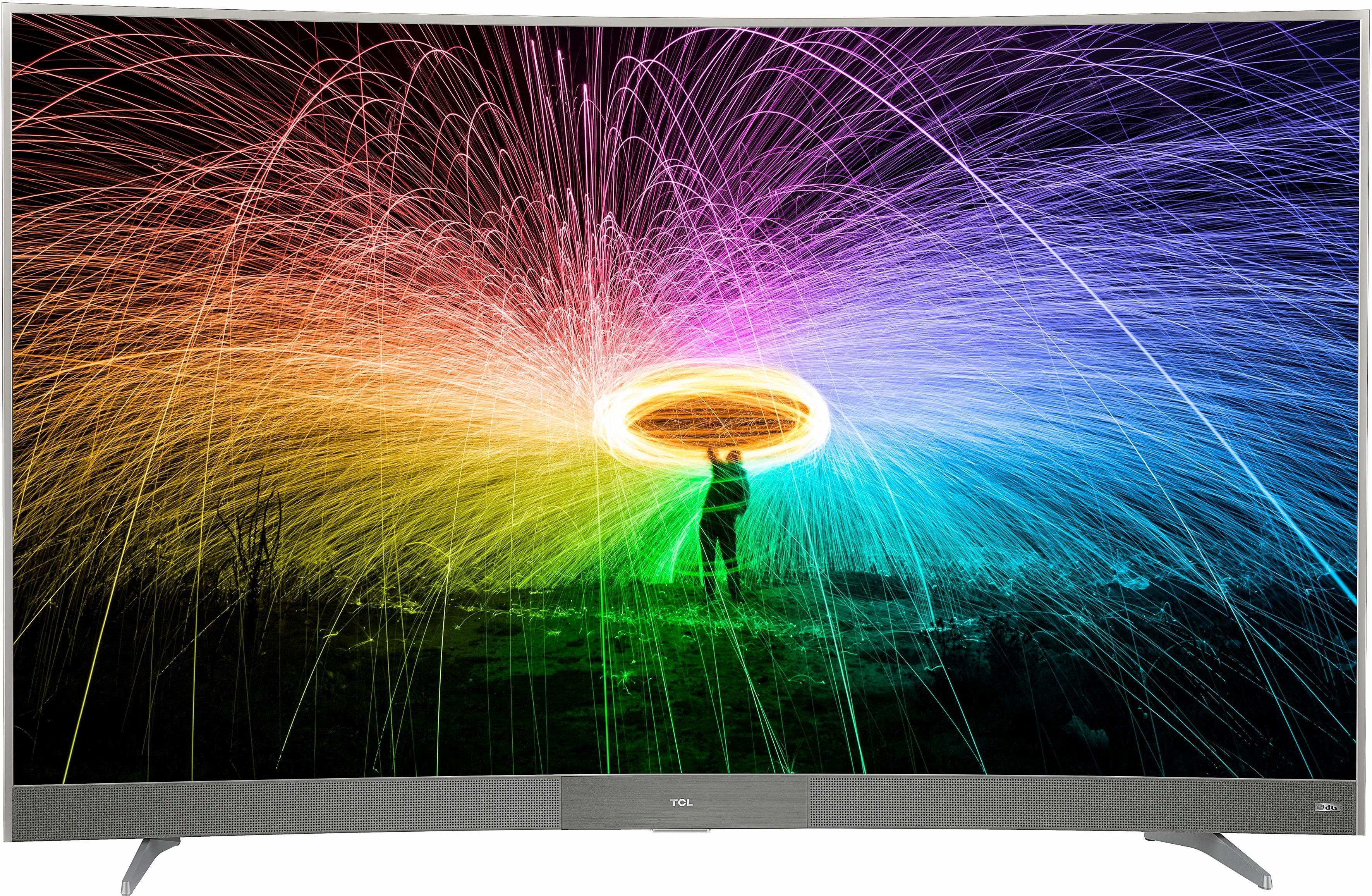 TCL U55P6096 Curved-LED-Fernseher (139 cm/55 Zoll, 4K Ultra HD, Smart-TV)