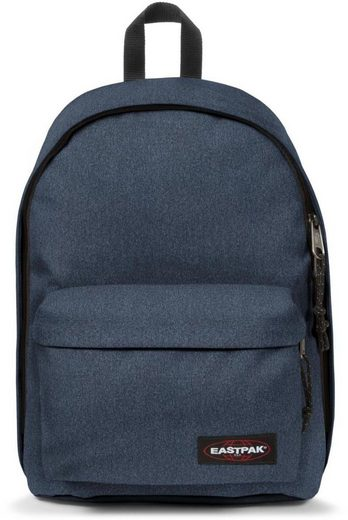 Eastpak Rucksack mit Laptopfach, »OUT OF OFFICE double denim«