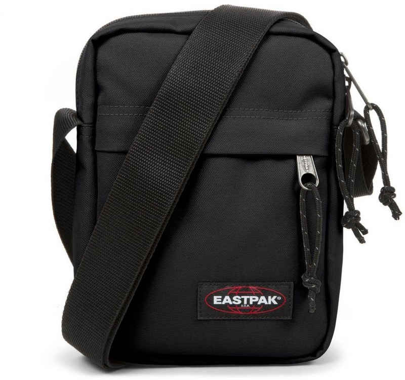 Eastpak Umhängetasche »THE ONE, Black«, enthält recyceltes Material (Global Recycled Standard)