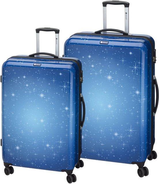 CHECK.IN® Trolleyset »Galaxy«, 4 Rollen, (Set, 2 tlg) | Taschen > Koffer & Trolleys > Hartschalenkoffer | CHECK.IN®