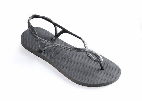 Havaianas »Luna« Sandale mit zarten Riemchen in Flechtoptik
