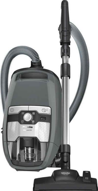 Miele Bodenstaubsauger Blizzard CX1 Excellence EcoLine, 550 Watt, beutellos, Graphithgrau
