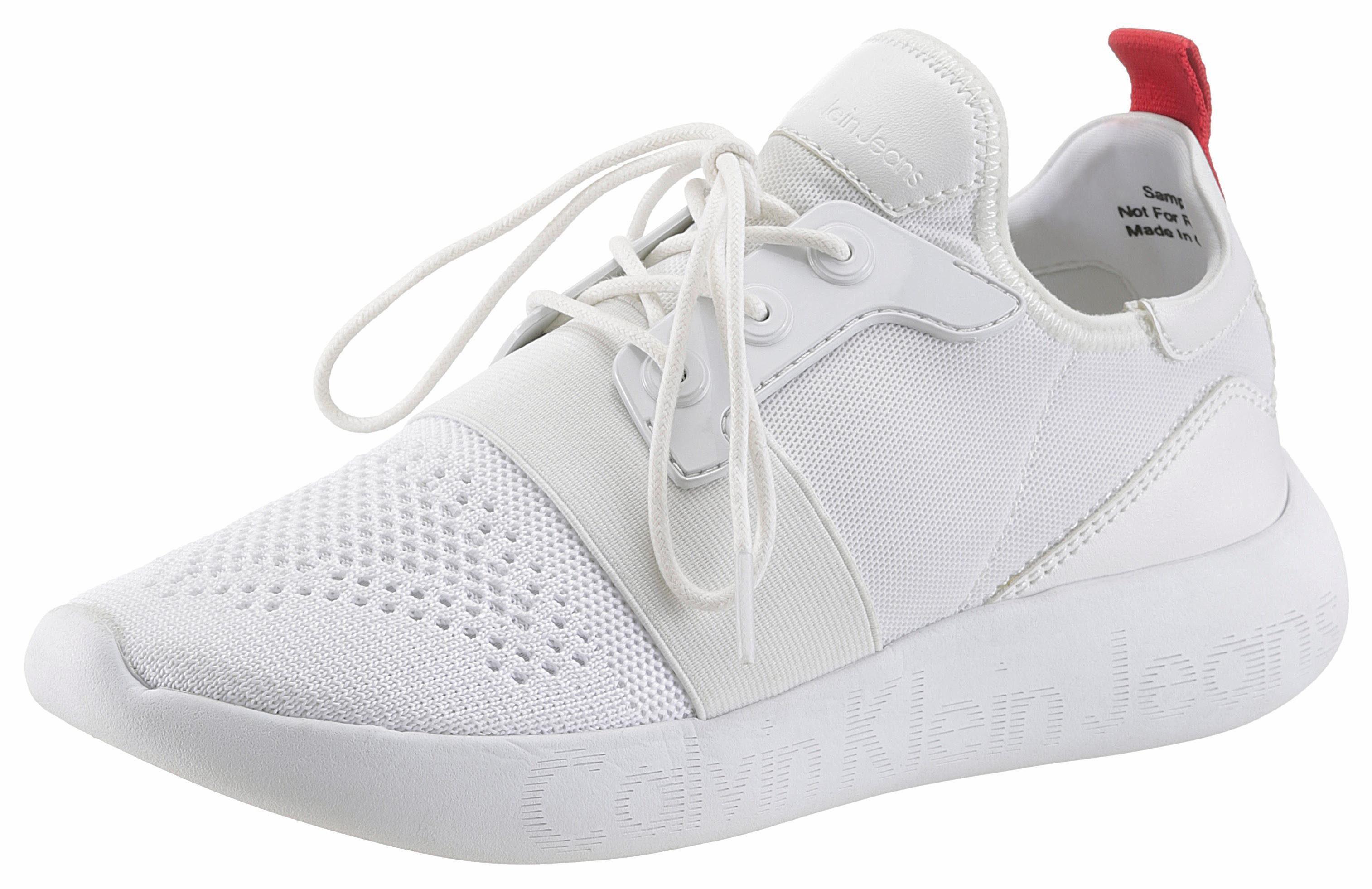 Calvin Klein Slipper, in sportiver Optik kaufen  weiß