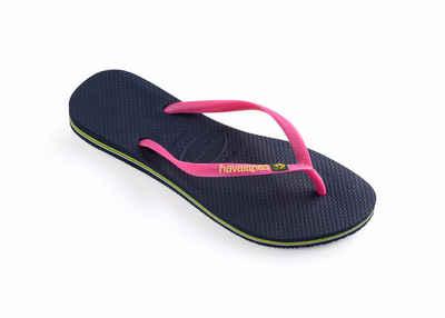 Kappa Logo Summer - Damen Flip-Flops and Sandals Black Größe 36 9sqKX
