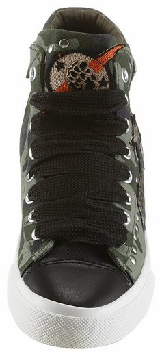 Replay Sneaker, Im Military-look