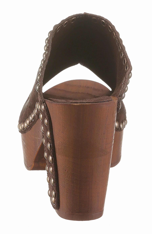Replay Pantolette, im Seventies-Style kaufen  dunkelbraun