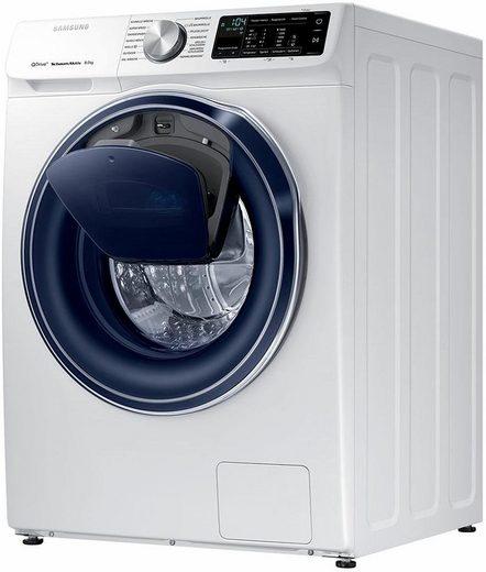 Samsung Waschmaschine QuickDrive AddWash WW6800 WW8EM642OPW/EG, 8 kg, 1400 U/Min
