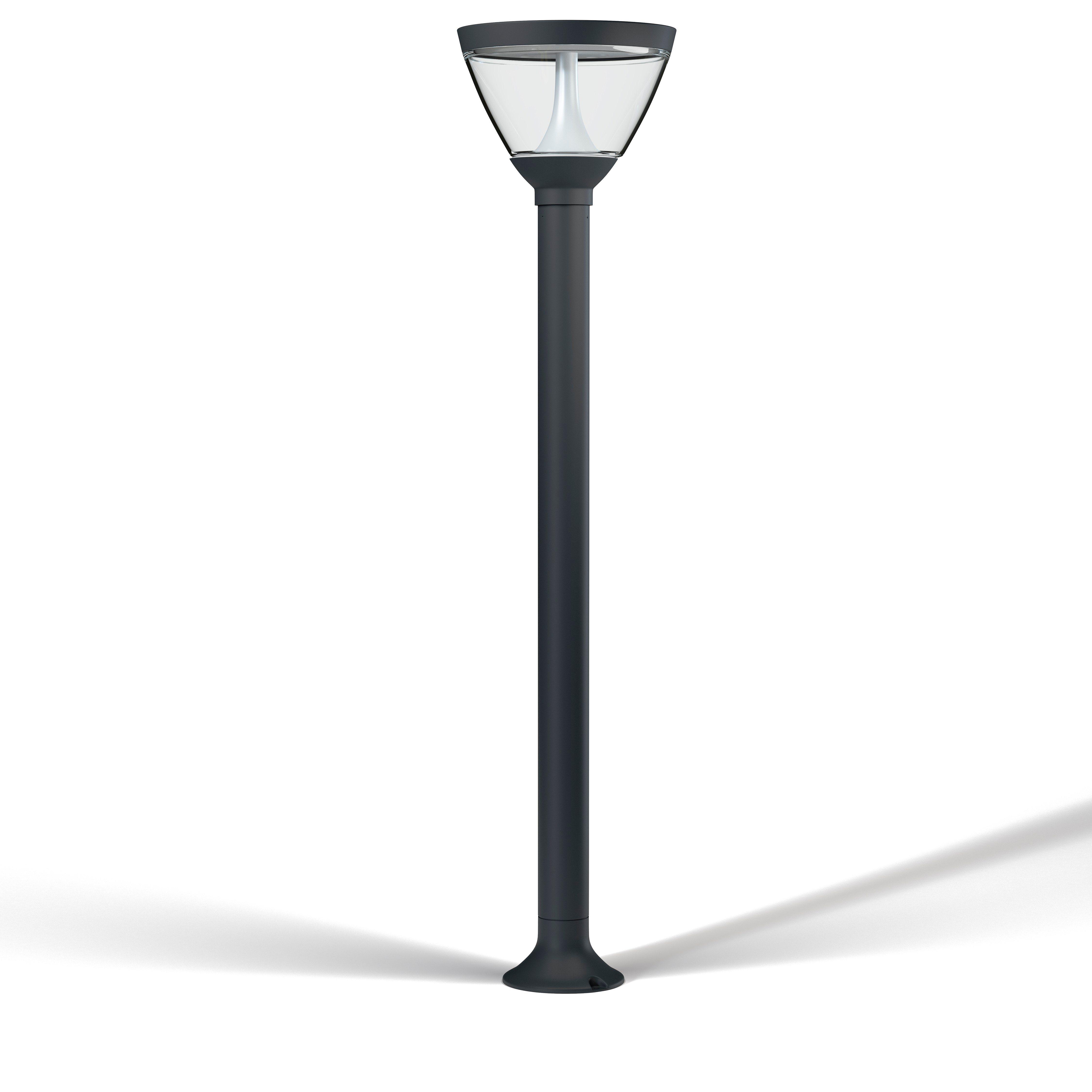 LED-Stehleuchte zur Wegebeleuchtung im Außenbereich »ENDURA STYLE Lantern Solar/AC 90cm 5W«