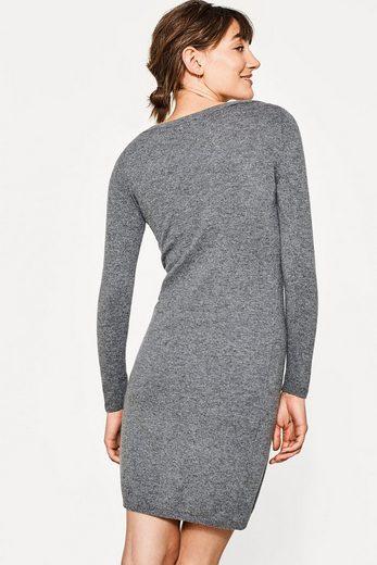 ESPRIT COLLECTION Kleid aus Kaschmir-Mix mit Strass-Dekor