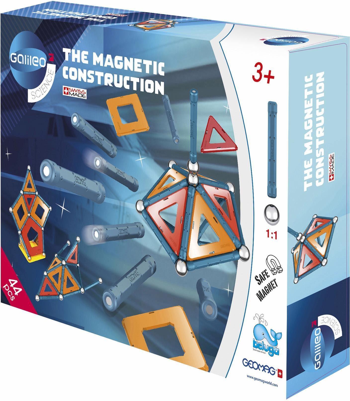 Geomag™ Konstruktionsspielzeug (44-tlg.), »Galileo Panels«
