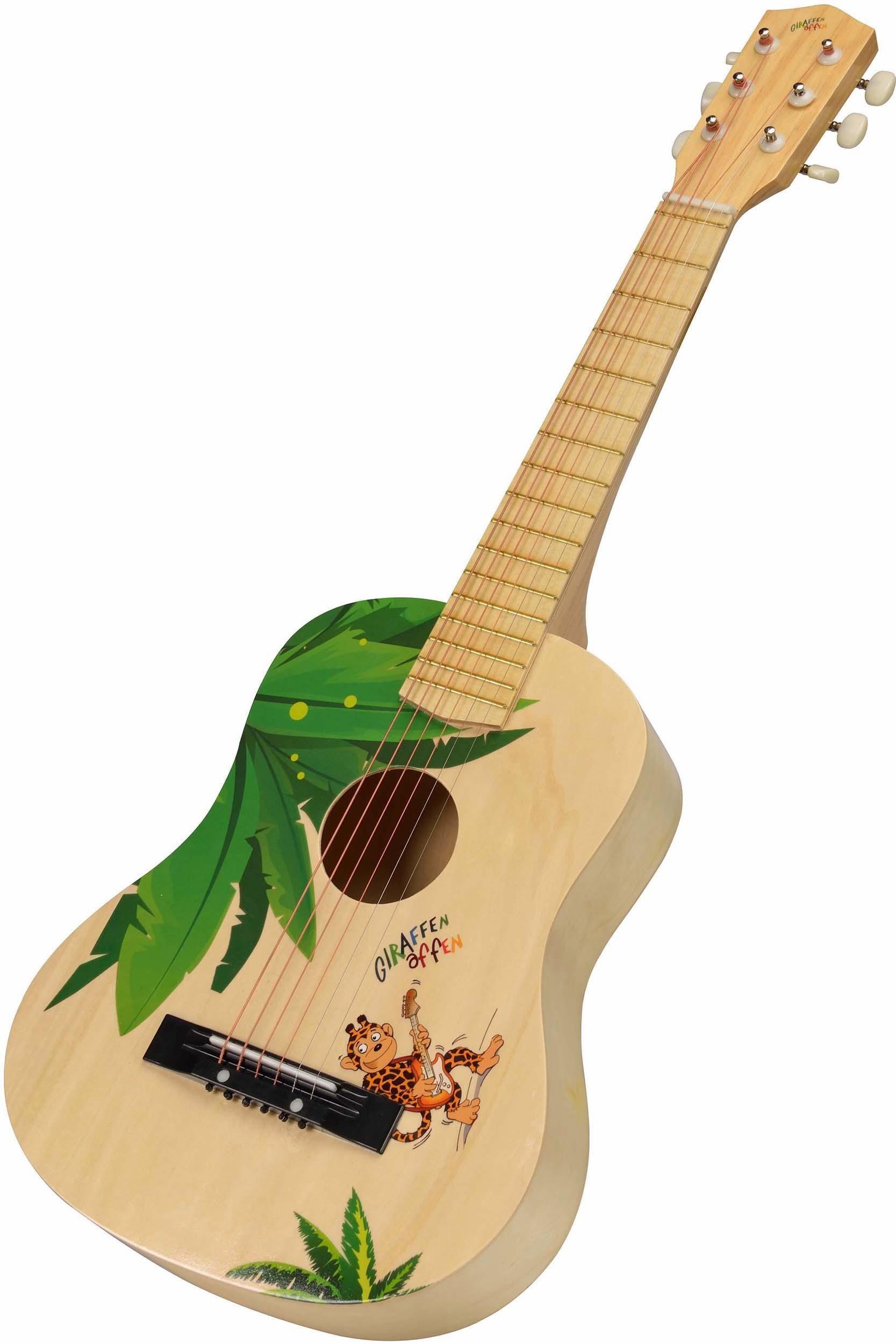 Beluga Kindergitarre, »Giraffenaffen Gitarre groß«