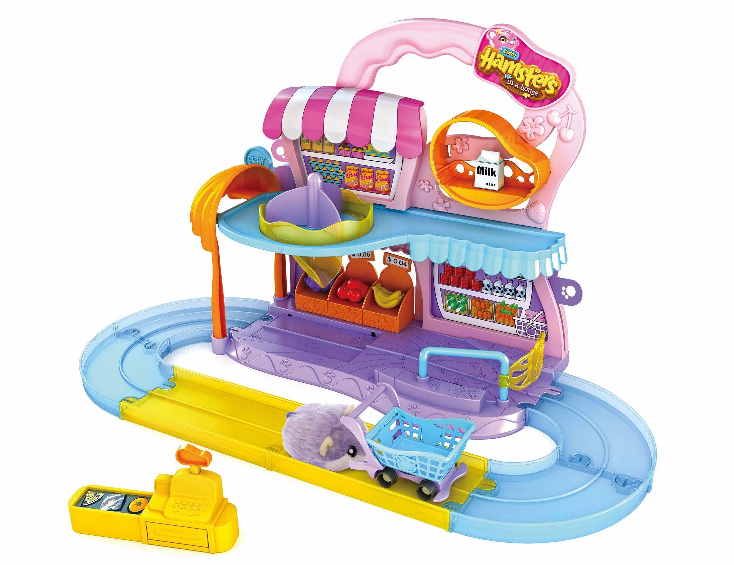 Beluga Spielset, »Hamsters in a house Supermarkt«