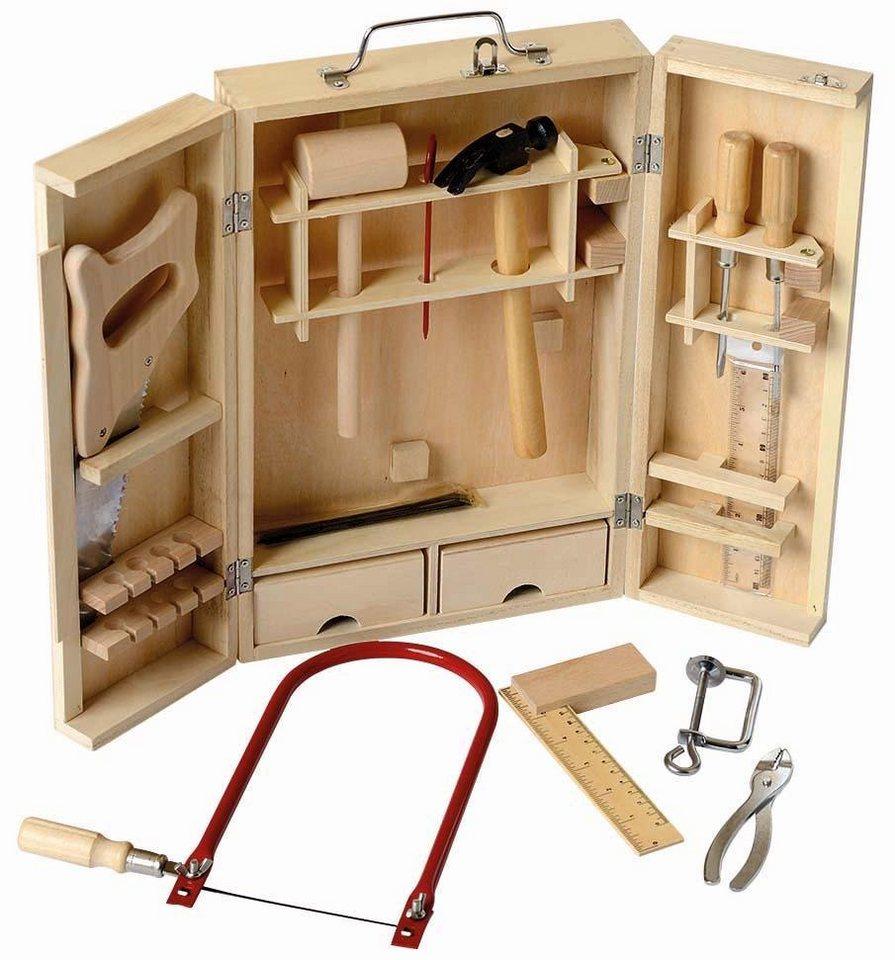 Beluga Kinderwerkzeug, 15-tlg.,  Werkzeugkoffer