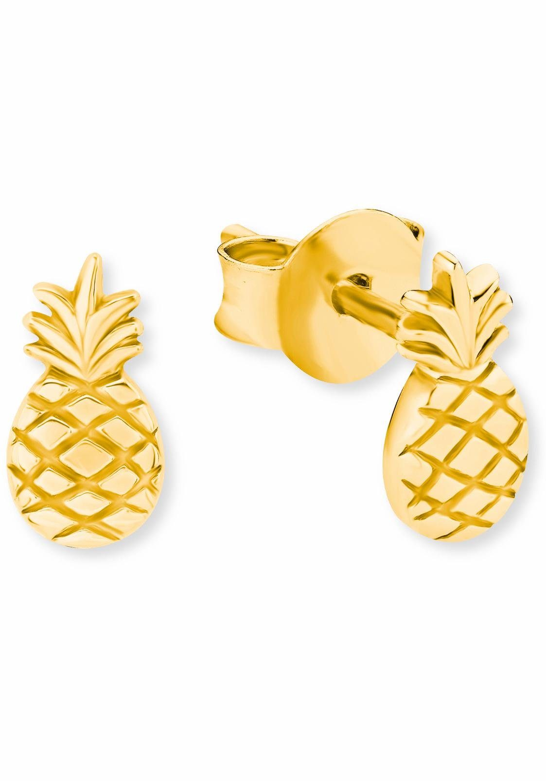 s.Oliver RED LABEL Paar Ohrstecker »Ananas, 2019944«