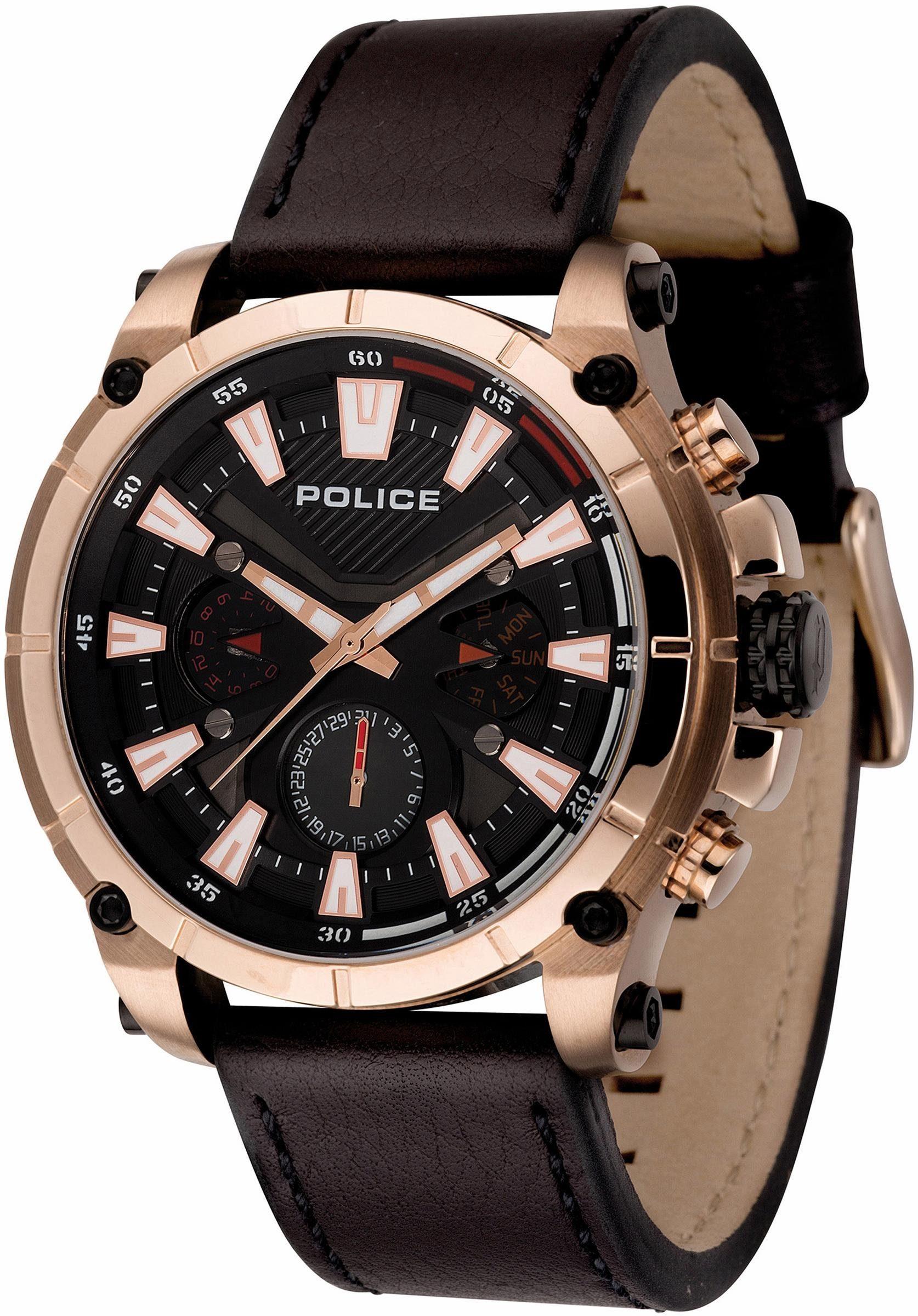 Police Multifunktionsuhr »OPERATOR, PL14832JSR.02«