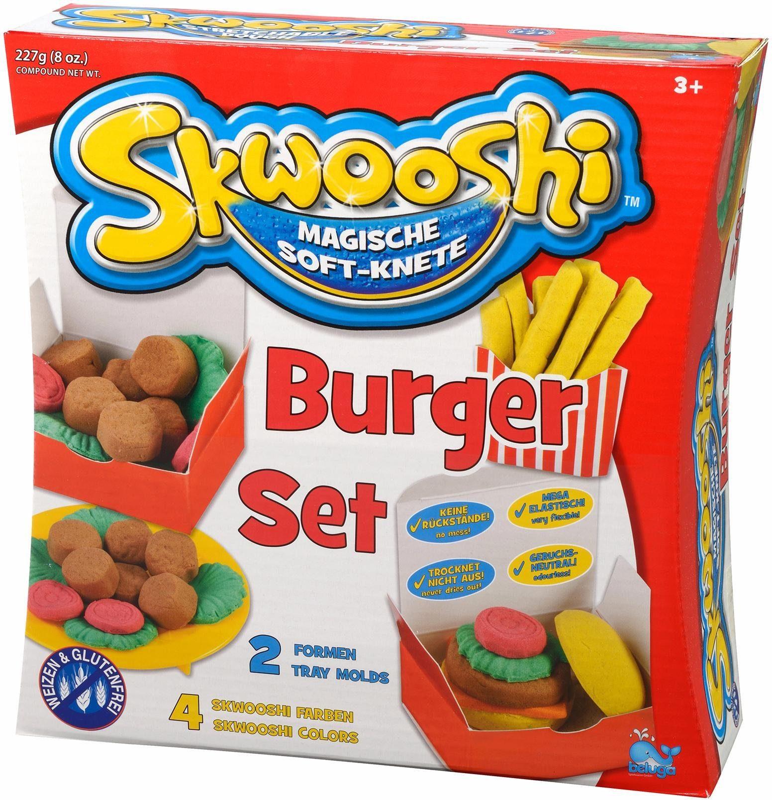 Beluga Knete, »Skwooshi™ Softknete Burger Set«