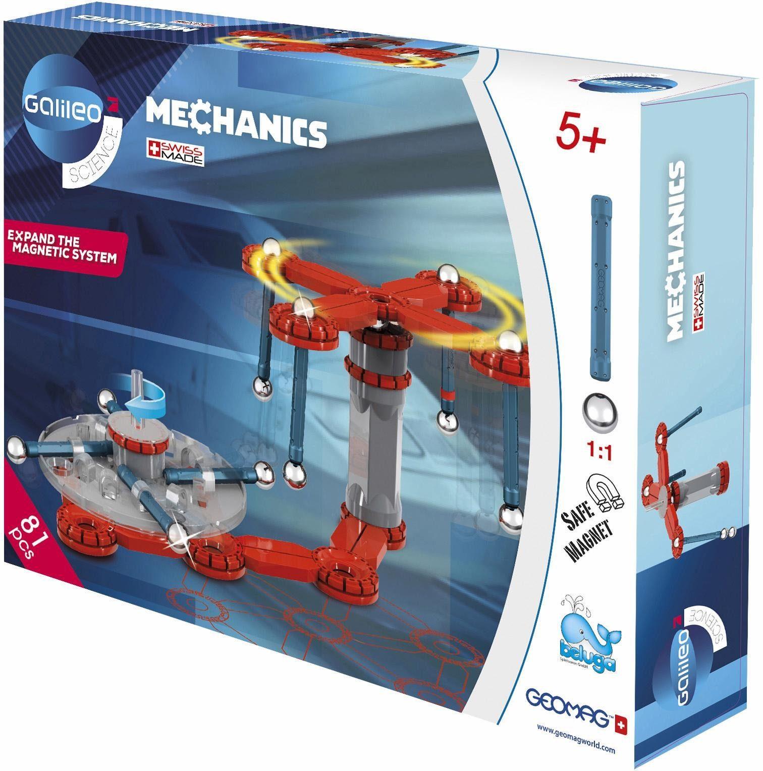 Geomag™ Konstruktionsspielzeug (81-tlg.), »Galileo Mechanics«