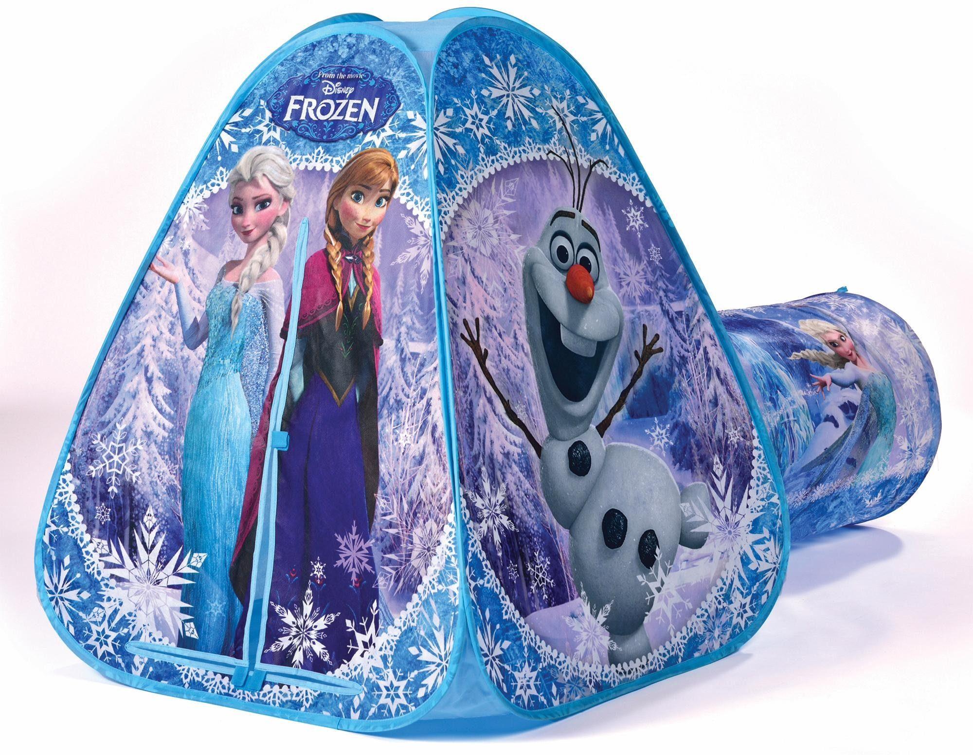 Beluga Kinderzelt, »Pop Up Zelt mit Tunnel Frozen«