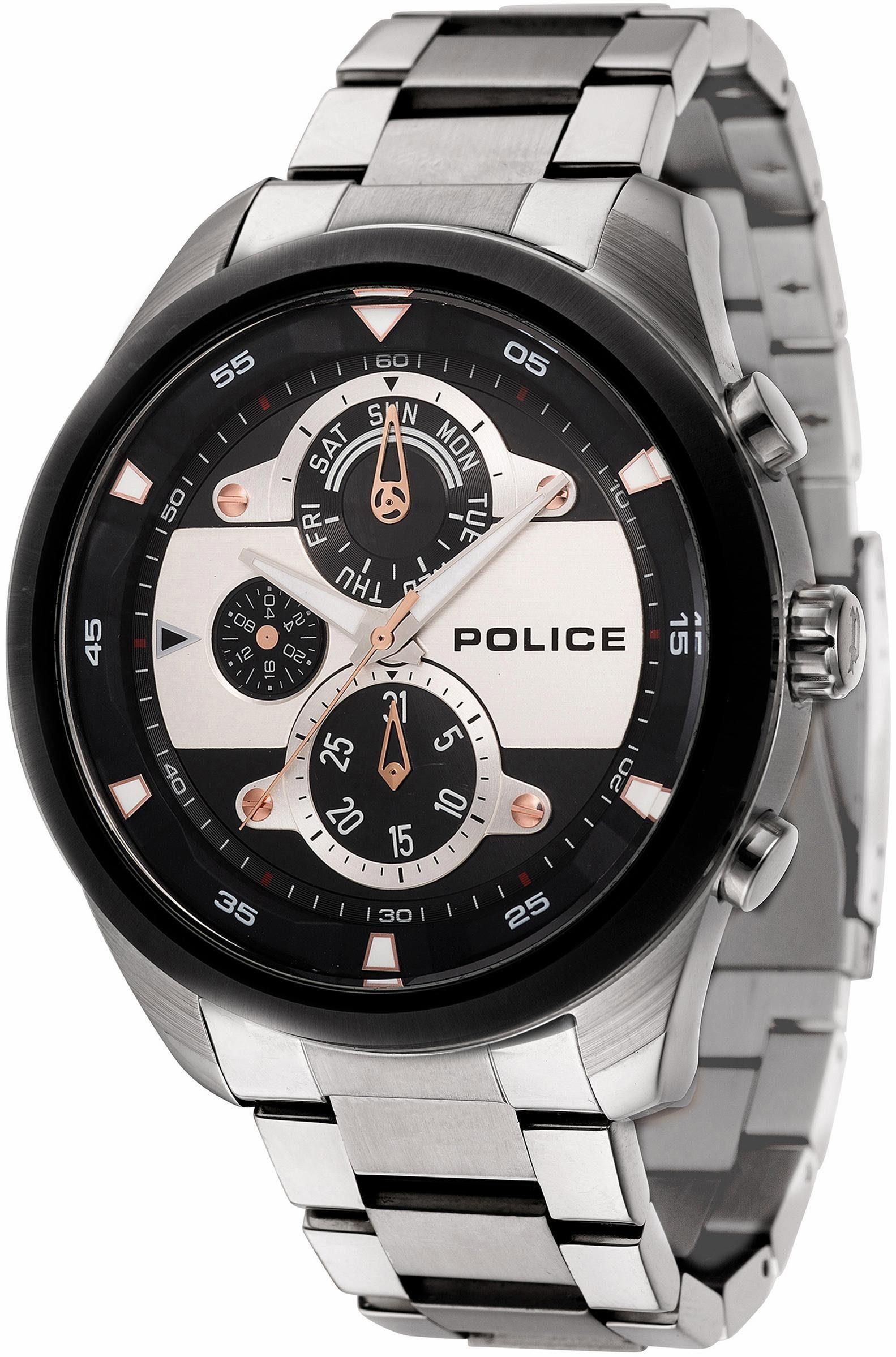 Police Multifunktionsuhr »MARINE, PL14836JSTB.02M«